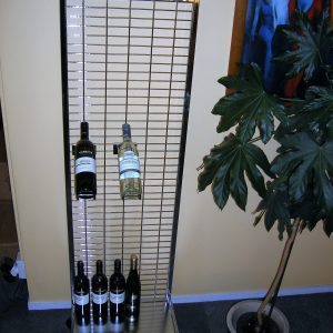Wine Bottle Display Stand
